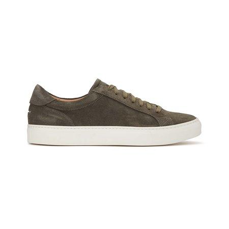 Unseen Footwear Helier Suede shoes - Khaki