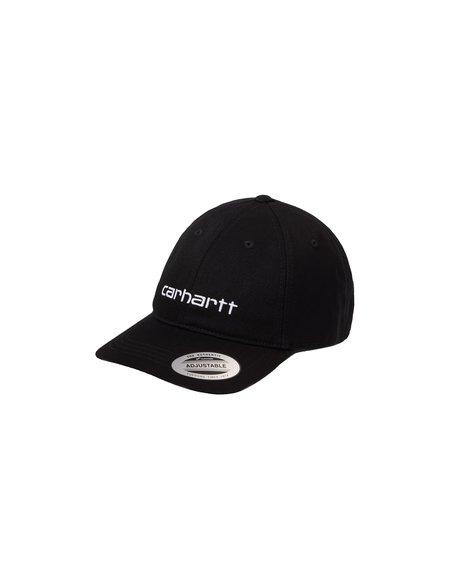 CARHARTT WIP Carter Cap - Black/White