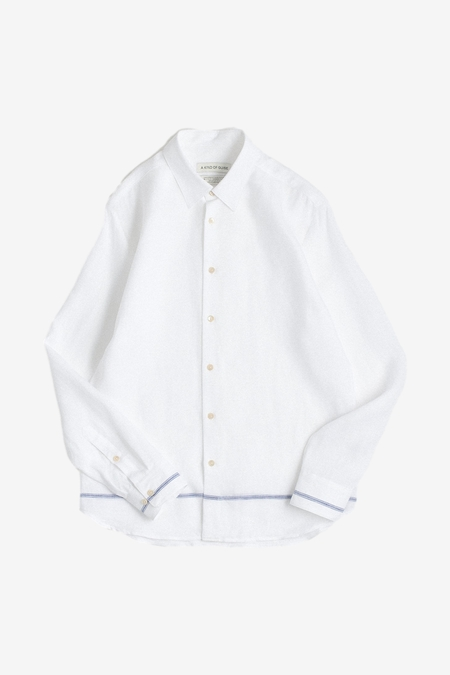 A Kind of Guise Flores Shirt - White Taverna
