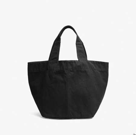 James Perse Loma Small Slouchy Tote - Charcoal