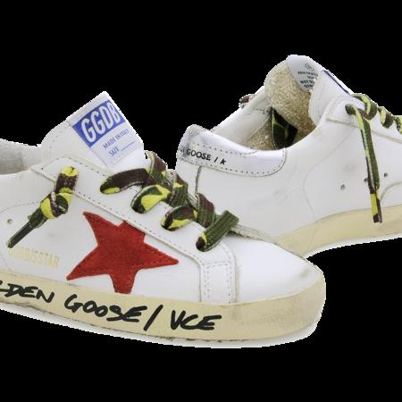 Kids Golden Goose Superstar Sneaker