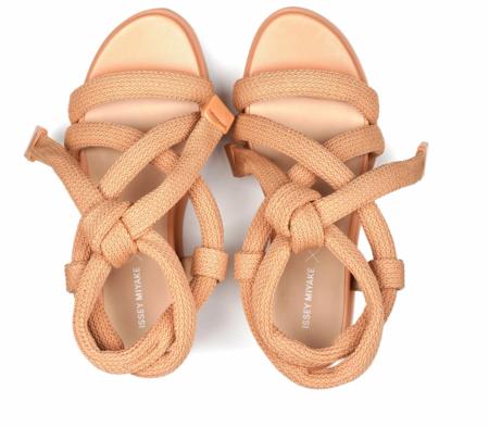 United Nude x ISSEY MIYAKE Node sandal - Beige