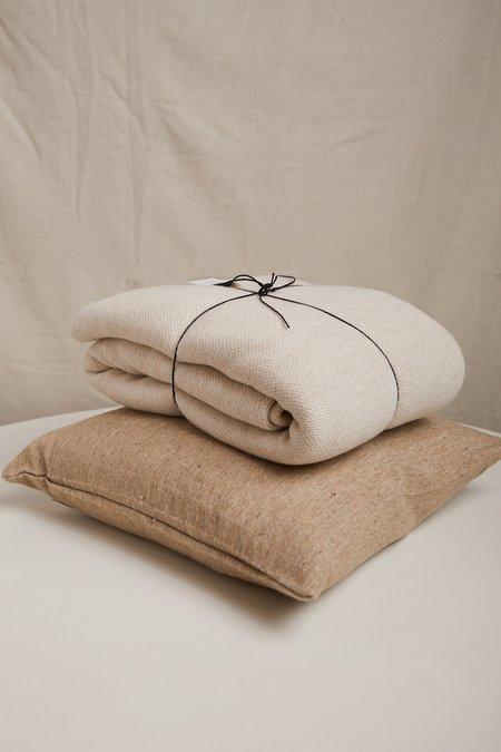 Hawkins New York Oversized Knit Throw - Ivory