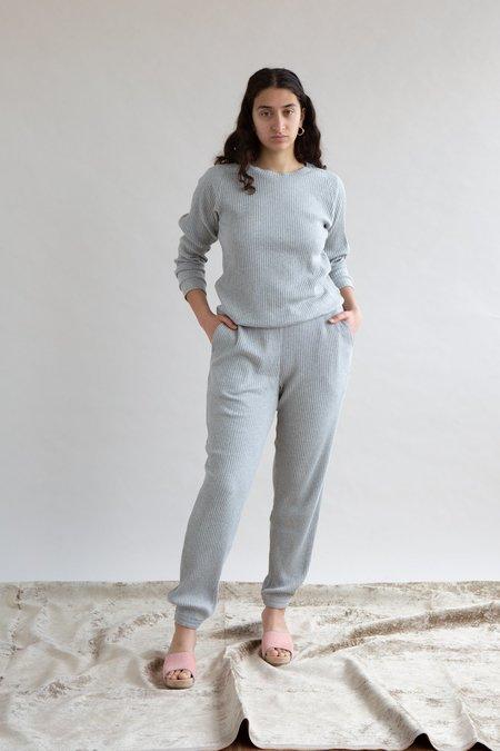 Baserange Ribbed Basic Sweatshirt