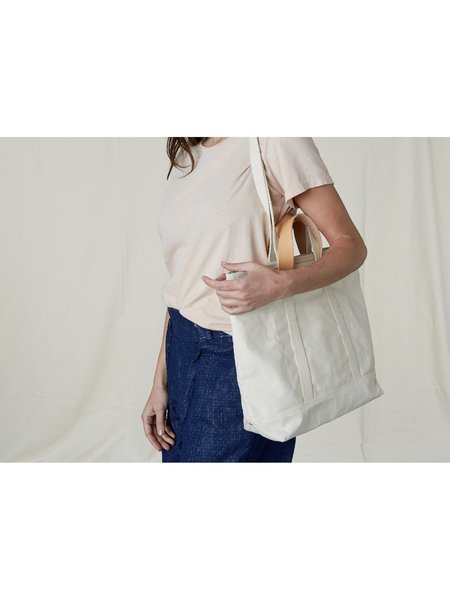 IMMODEST COTTON East West Tote - Natural