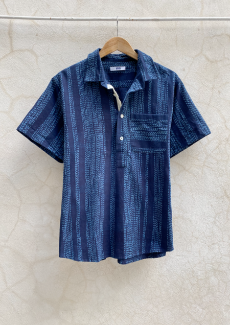 Indi Cedar Shirt - Drinkwater Stitch Stripe