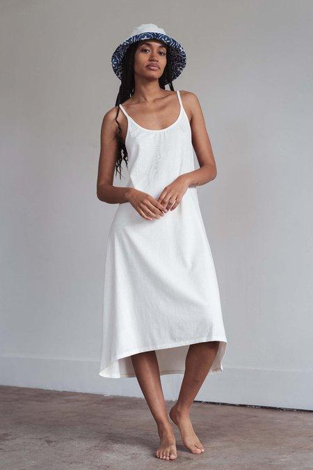Arraei Collective BEACH DRESS - white