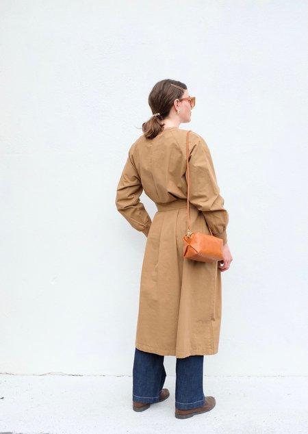 Girls of Dust Military Robe Light Cotton Drill coat - Safari