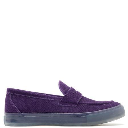 supra distribution RONE Thirty Six Hand Sewn Python SHOES - Purple