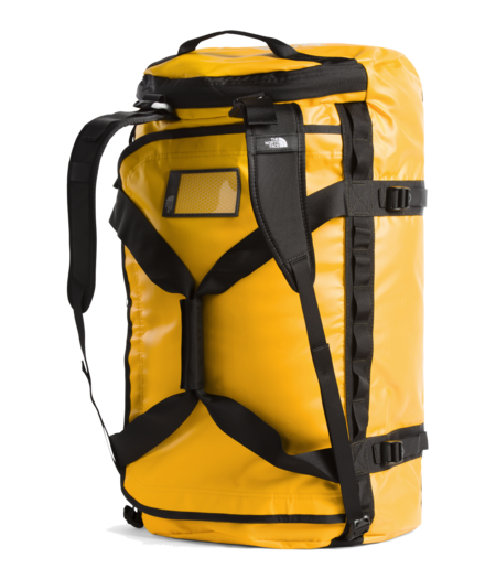 THE NORTH FACE Large Base Camp Duffel Bag - Summit Gold / TNF Black