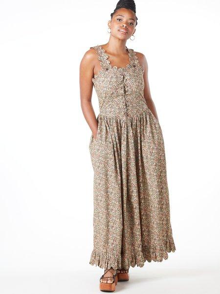 Laurence Bras Nagoya Dress - BEIGE