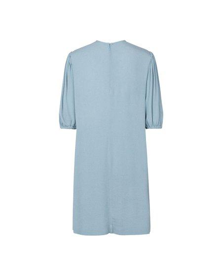 SAMSOE SAMSOE W Aram SS Dress 12949 - Dusty Blue