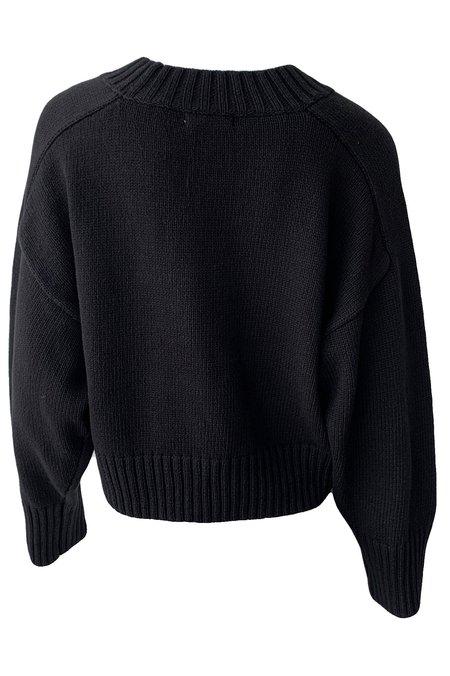 St. Agni Eero Knit Pullover - black