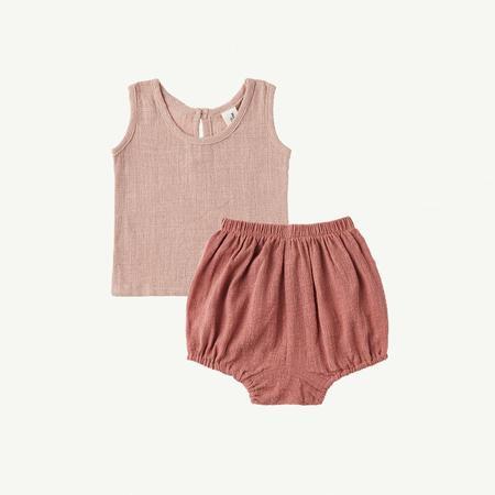 kids Summer & Storm Singlet & Bloomer Baby Set - Blush Rose