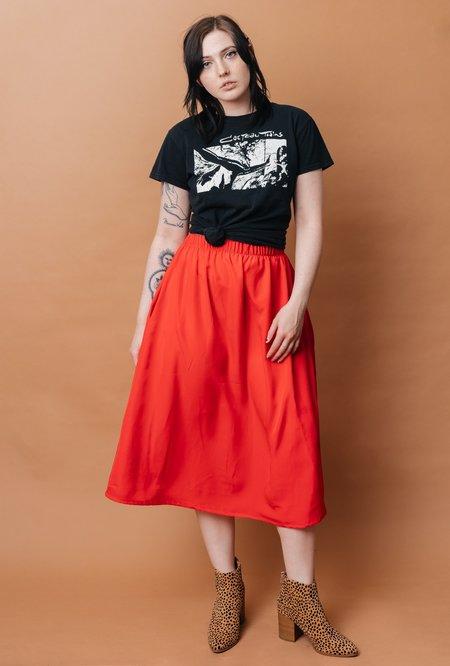 Altar Houseline Eva Midi Skirt - Poppy