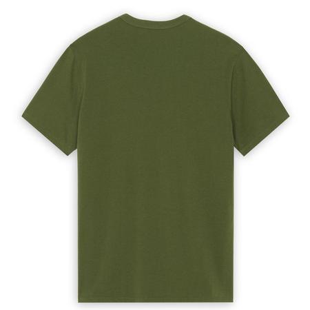 Maison Kitsuné Fox Head Patch Classic Tee-Shirt - Khaki