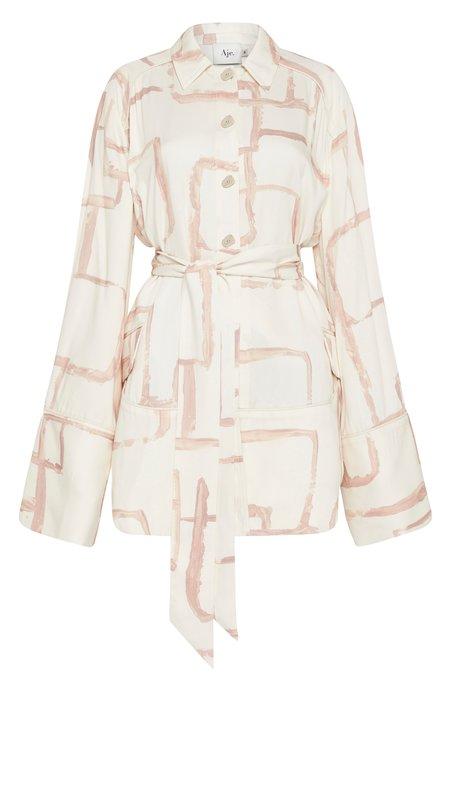 Aje L 'Espirit Shirt Dress - Abstract