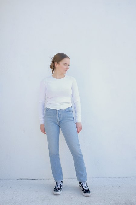 Baserange Odea Longsleeve - White