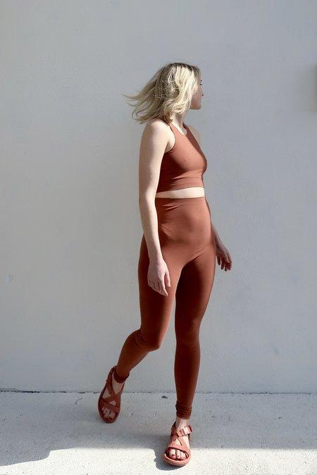 Baserange Oleta Leggings - Rust