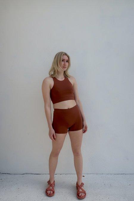 Baserange Oleta Shorts - Rust