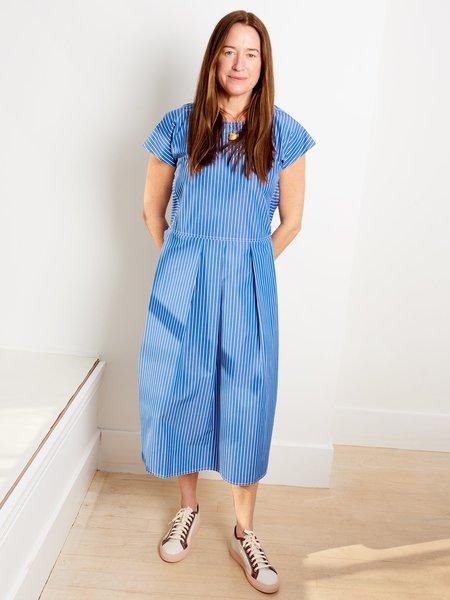 Sofie D'Hoore Darlene Dress - Blue/White
