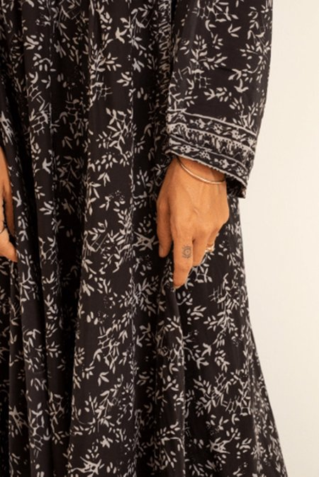 Natalie Martin Fiore Maxi Dress - Silhouette Shadows
