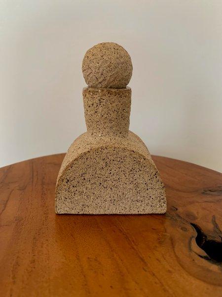 Ruby Bell Ceramics Geometric Little Bottle