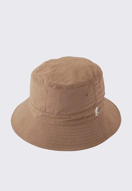 Gramicci Shell Reversible Hat - tan/sax
