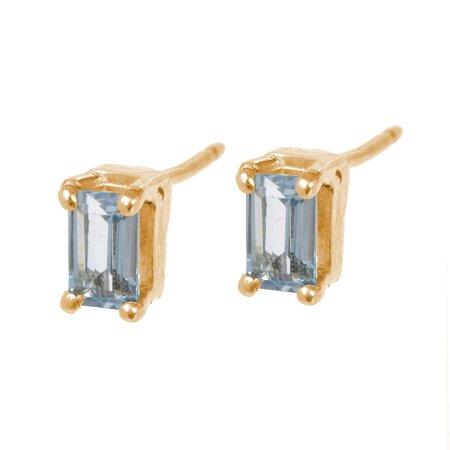 Tarin Thomas Kennedy Aquamarine Earrings