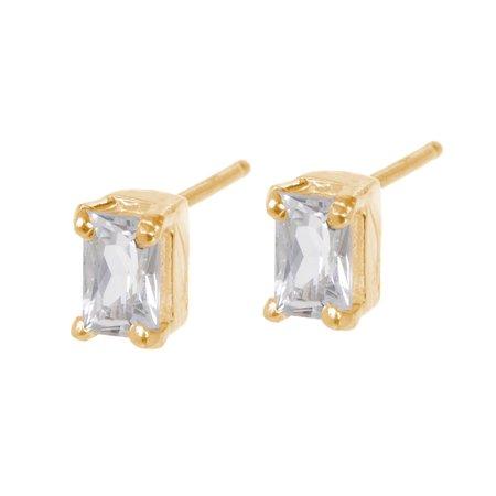 Tarin Thomas Kennedy White Topaz Earrings