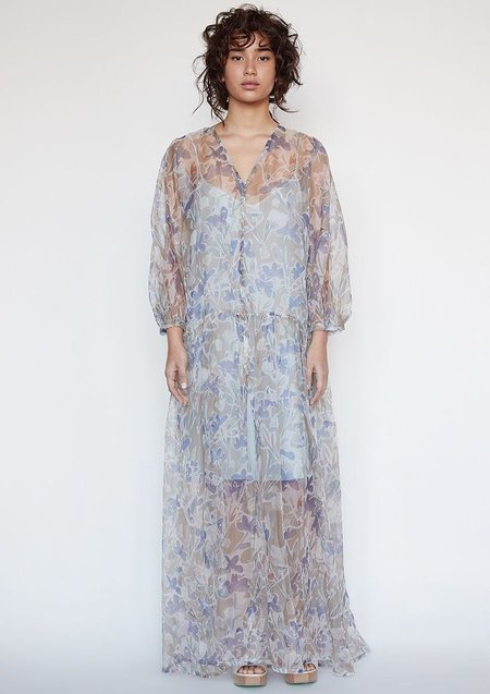 Christine Alcalay Teresa Silk Organza Dress