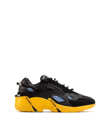 Raf Simons Two-tone Cyclon 21 Sneakers - Black/Yellow