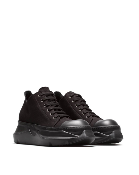 Rick Owens DRKSHDW Abstract Fabric Sneakers