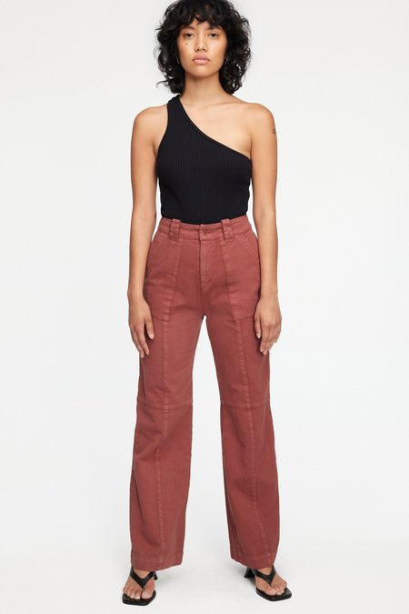 Lacausa Bryce Trousers - Cocoa