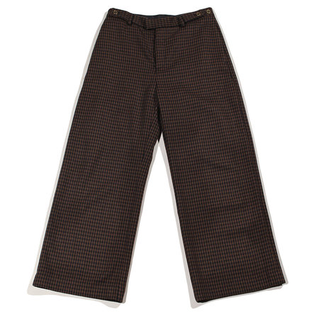 Hope Knox Check Trouser - Brown Check