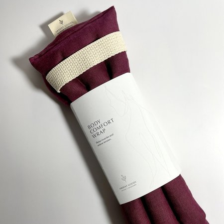 Ardent Goods Linen Body Comfort Wrap - Mulberry