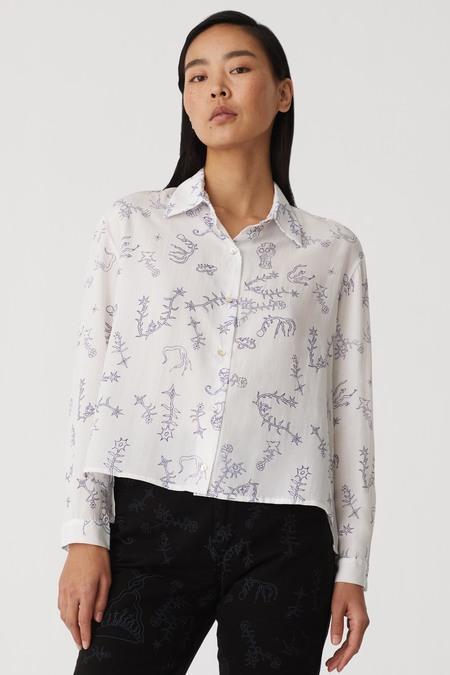 Paloma Wool Bunjin Printed Blouse