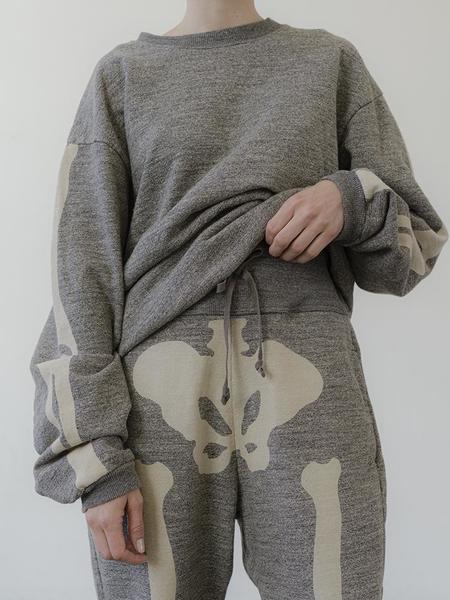 UNISEX Kapital Grandrelle Big Bones Sweatpants - Heather Grey