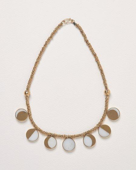 Pamela Love x Kyleigh Kunn Moon Phase Necklace