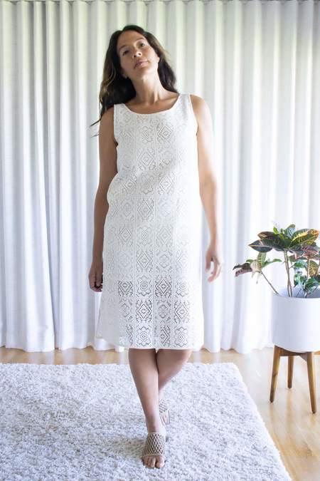 Amomento crochet Dress - Ivory