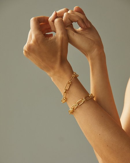 Pamela Love Alev Handmade Bracelet - Yellow Gold