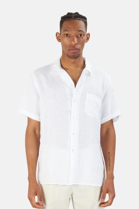 La Paz Silveira Panama Shirt - White