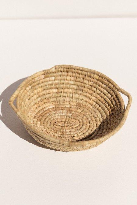 Numbulwar Numburindi Arts Weaving  basket - natural