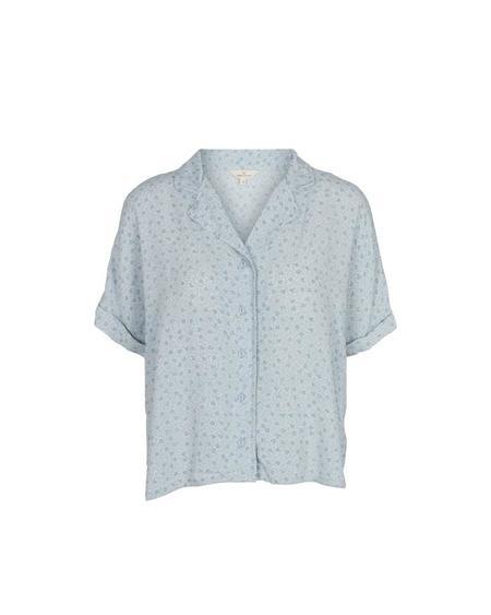 Basic Apparel Nella SS Shirt - Celestial Blue