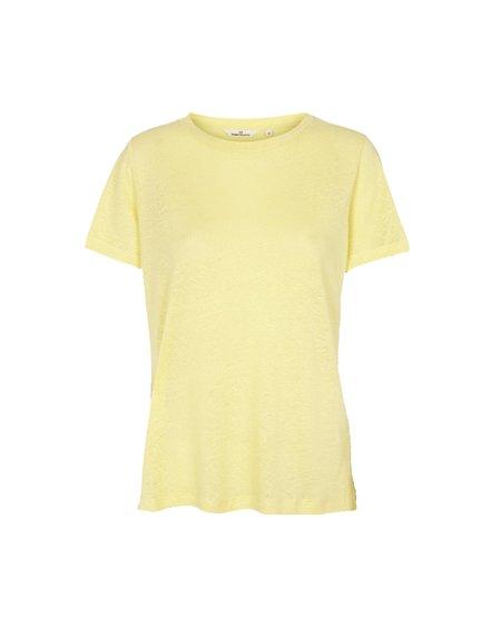 Basic Apparel Kali T-Shirt - Custard