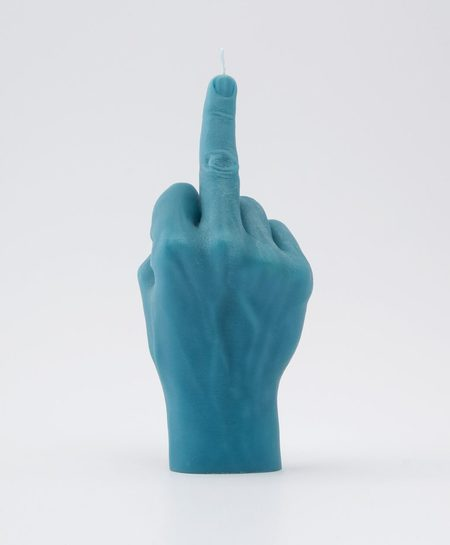 54celcius Candle Hand F*ck You! - Blue