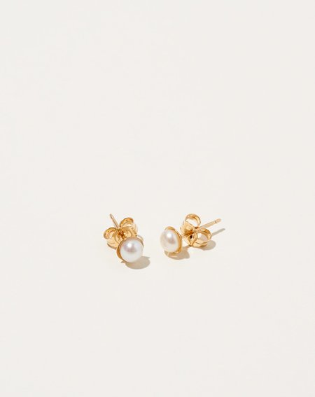Bartleby Objects Tiny Halo Earring - 14k gold-fill