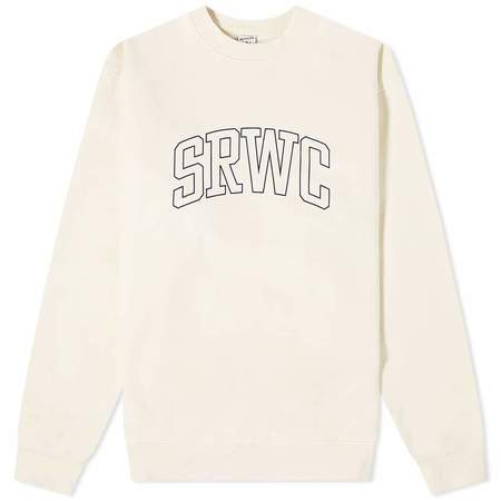 Sporty & Rich Princeton Crewneck sweater - Milk