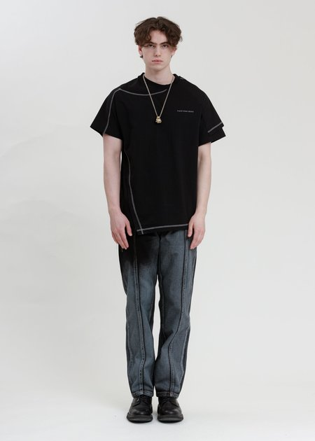 Feng Chen Wang Jersey 2 in 1 T-Shirt - Black