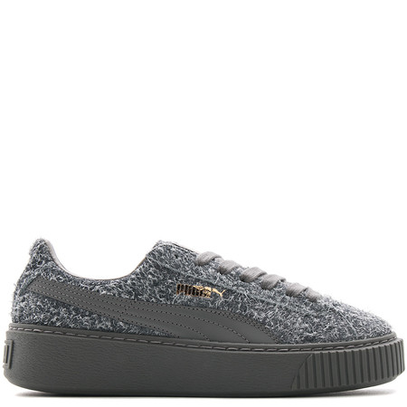 PUMA WOMEN'S SUEDE PLATFORM ELEMENTAL / STEEL GREY